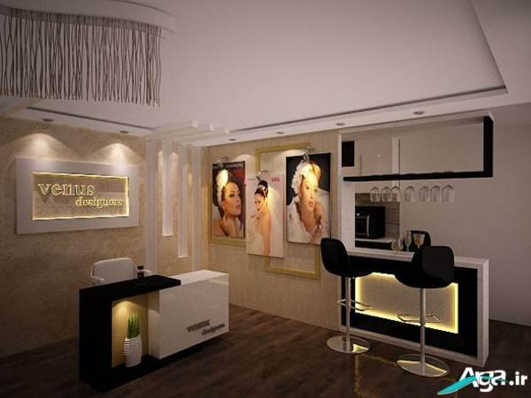 دکور آرایشگاه زنانه جدید