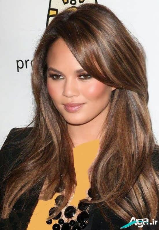 6 ترکیب رنگ موی زیتونی
