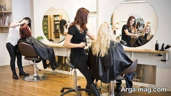 دکور جذاب آرایشگاه زنانه