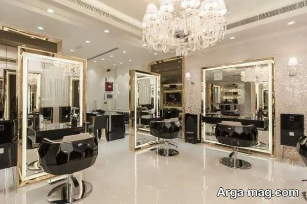 دکور آرایشگاه زنانه شیک