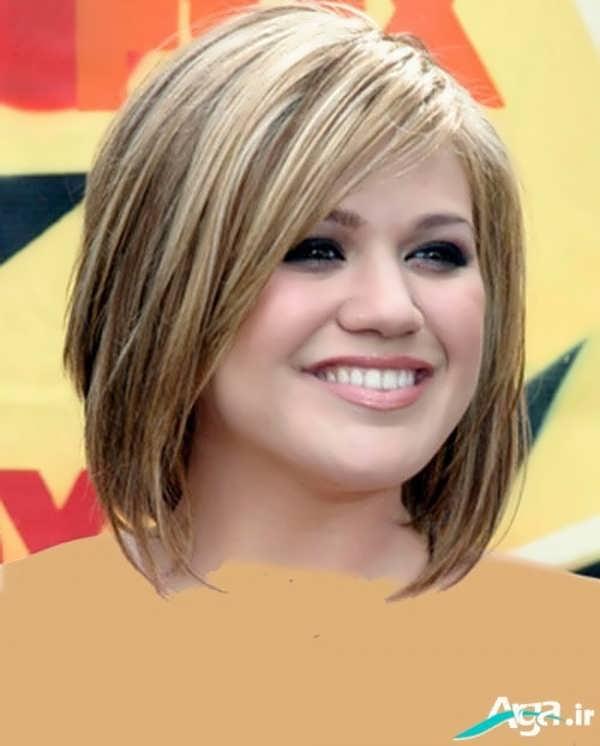 انواع مدل های کوتاهی مو برای صورت های گرد