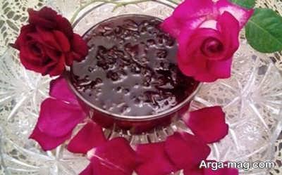 روش تهیه مربای گل محمدی خشک