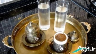 آموزش مرحله به مرحله طرز تهیه قهوه ترک