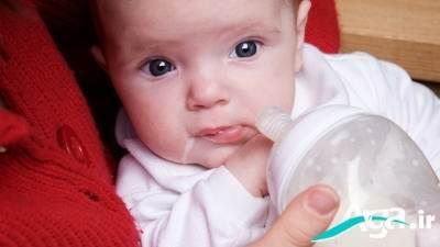 مشکلات معده در نوزادان