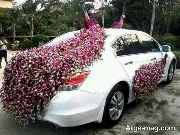 مدل منحصر به فرد ماشین عروس