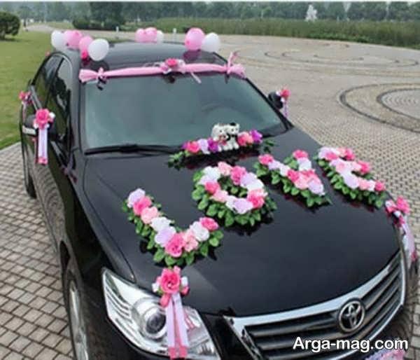 ماشین عروس با تزییناتی منحصر به فرد
