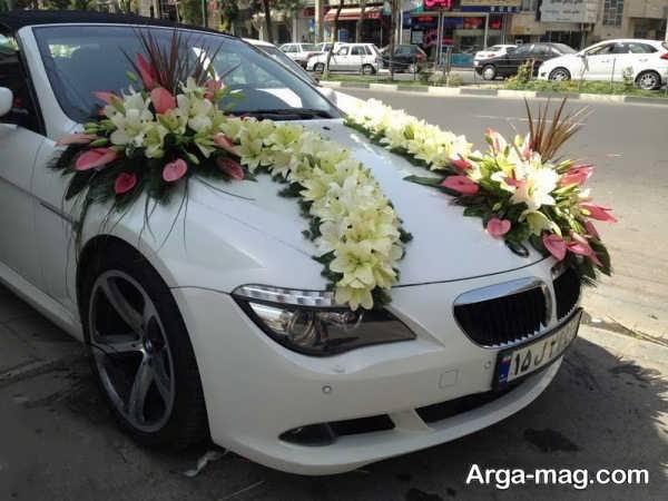 مدل زیبای ماشین عروس