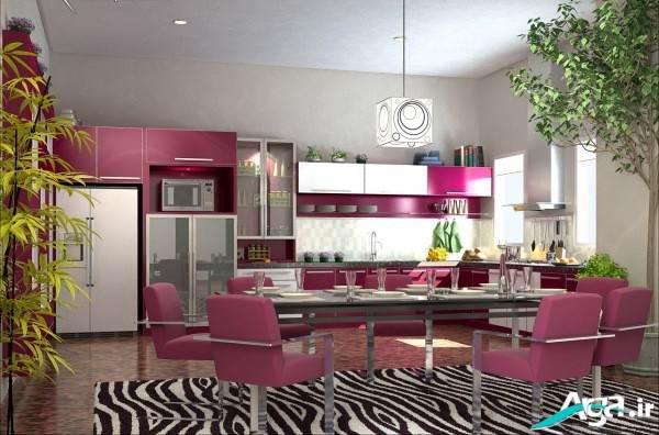 مدل دکوراسیون آشپزخانه