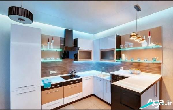 دکوراسیون آشپزخانه بزرگ 2016