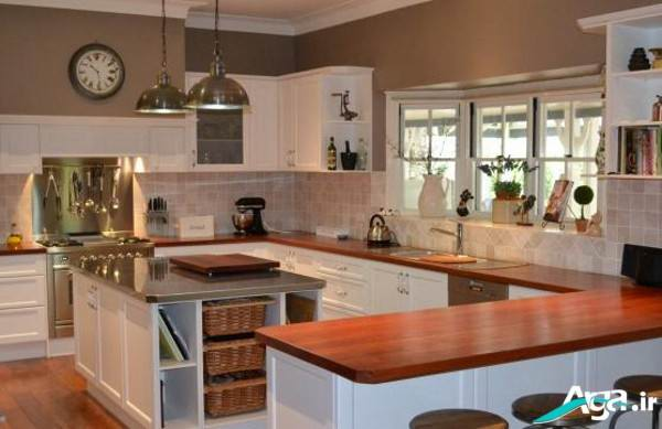 عکس دکوراسیون آشپزخانه مدرن