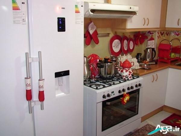 انواع کاورلوازم برقی اشپزخانه چیدمان آشپزخانه عروس با ایده های جدید و زیبا