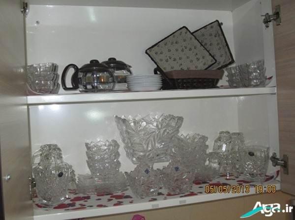 تزیین داخل کابینت عروس