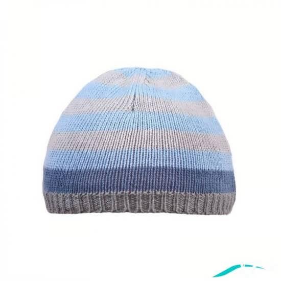 کلاه بافتنی با رنگ کامواهای متنوع