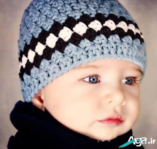 کلاه بافتنی پسرانه شیک و جذاب 2016