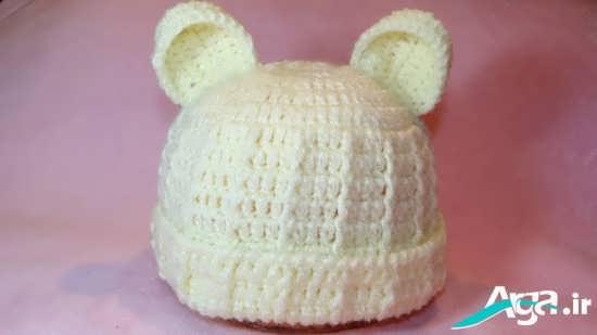 مجموعه ای از کلاه های بافتنی پسرانه