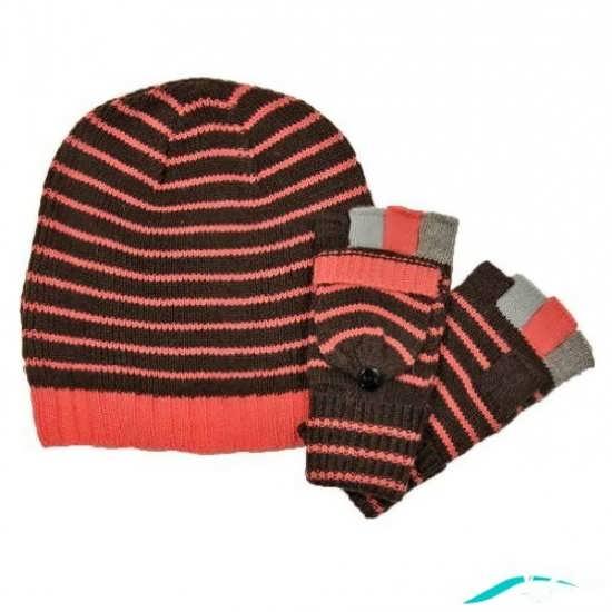 کلاه بافتنی پسرانه و دستکش پسرانه