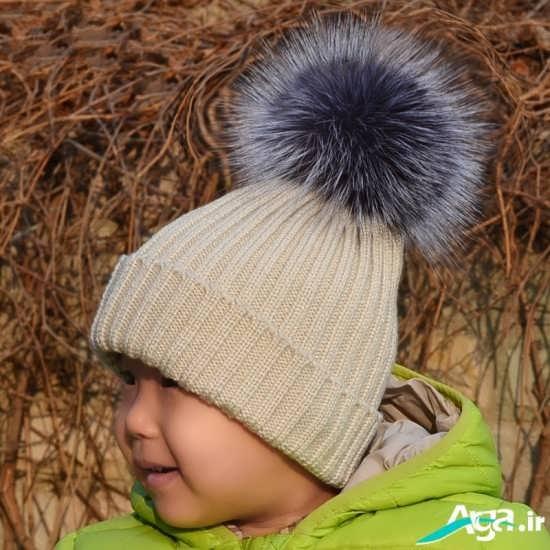 مدل کلاه بافتنی مردانه ساده