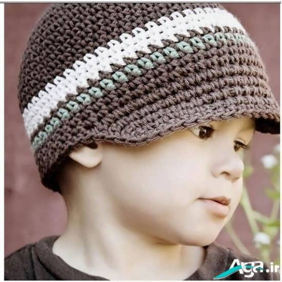 کلاه بافتنی پسرانه ویژه زمستان 1394