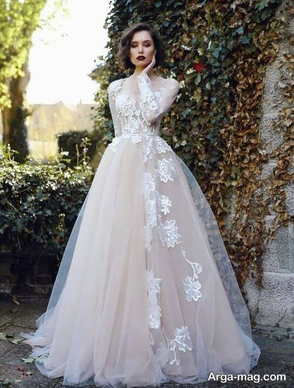 زیباترین پیراهن عروس دانتل