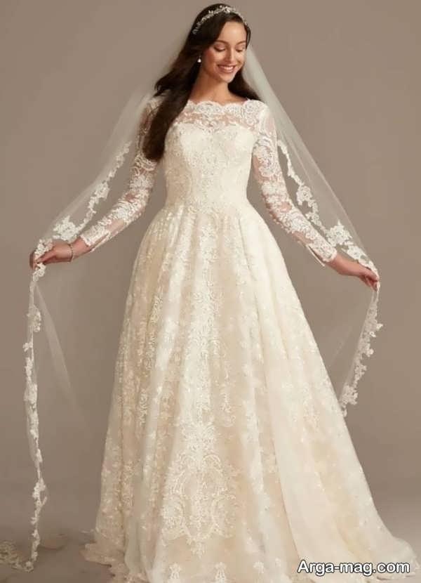 شیک ترین لباس عروس دانتل