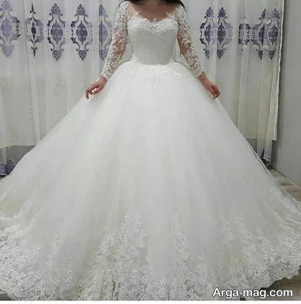 جدیدترین لباس عروس دانتل