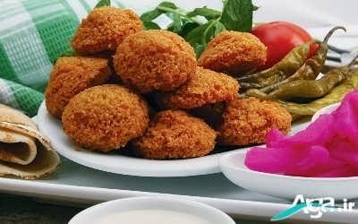 طرز تهیه فلافل لبنانی خوشمزه