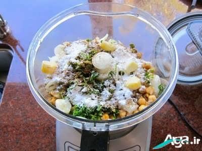 طبخ فلافل لبنانی اصیل در منزل