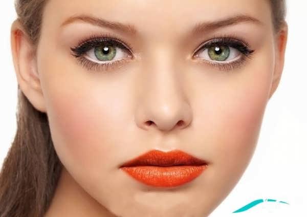 انواع مدل های آرایش لایت صورت