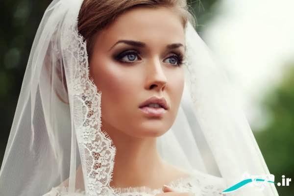 مدل آرایش ساده چشم عروس