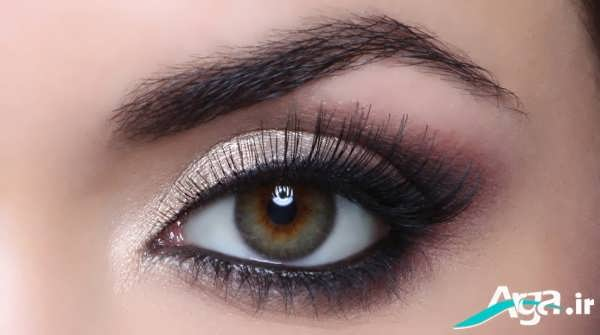 مدل های جذاب آرایش چشم درشت