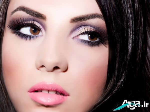 مدل های آرایش چشم برای چشم های درشت