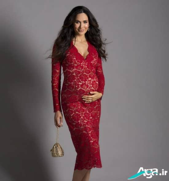 مدل لباس بارداری مجلسی