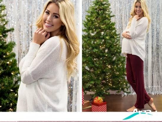 لباس گرم بارداری