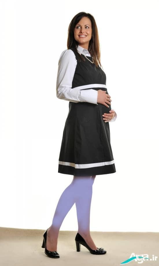 پیراهن کوتاه بارداری