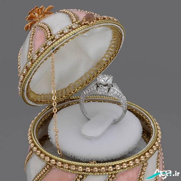 مدل حلقه جدید نامزدی و ازدواج