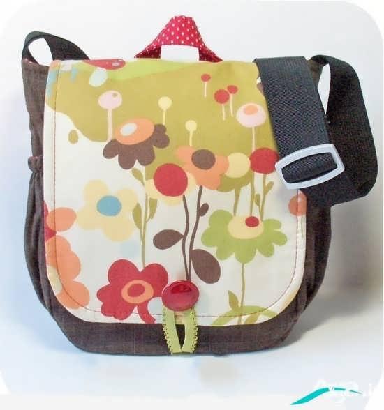 کیف دخترانه پارچه ای با طرحی متفاوت