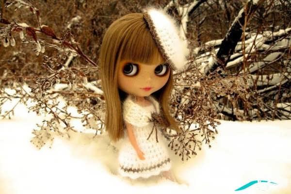 عکس دخترونه عروسکی