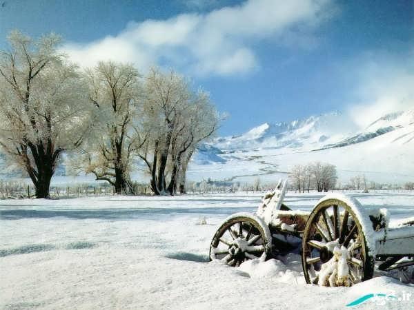 مناظر زمستانی زیبا