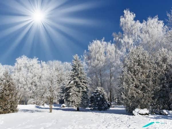 عکس مناظر زمستانی