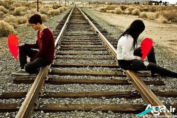 عکس غمگین عاشقانه دو نفره