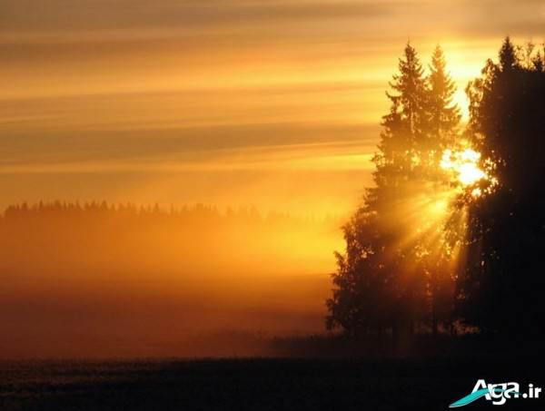 تصاویر غروب خورشید