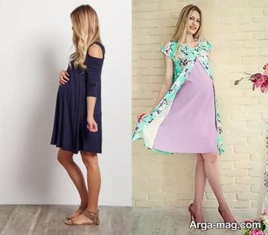 تصاویر انواع مدل لباس بارداری جدید و شیک