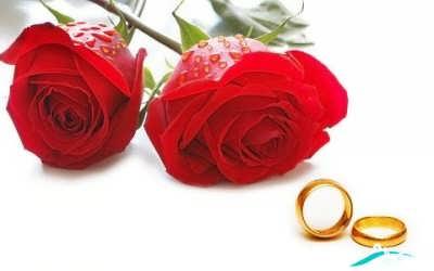 پیامک عاشقانه برای همسر جدید