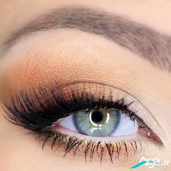 انواع مدل های آرایش ساده چشم