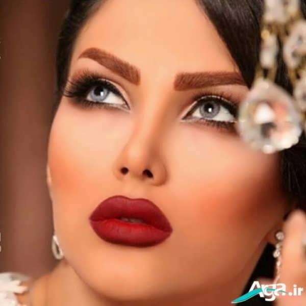 انواع مدل های آرایش چشم 2016
