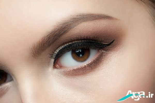 مدل آرایش لایت چشم