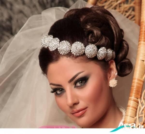 مدل آرایش لایت عروس 2016