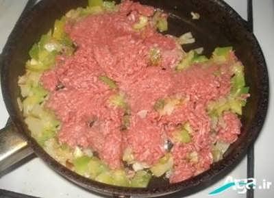 روش تهیه اسنک قارچ و گوشت با سانویچ ساز