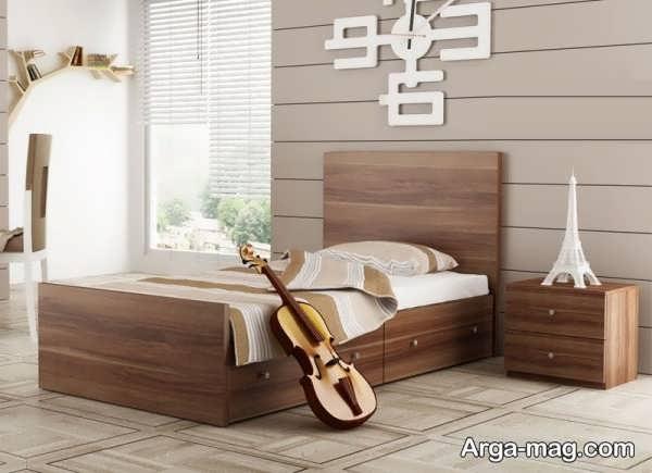 مدلی از تختخواب نوجوان
