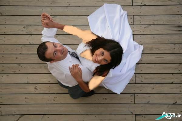 مدل عکس عروس و داماد